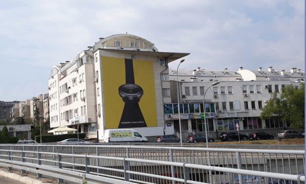 Ekskluziva! Fasada kod Beogradske Arene