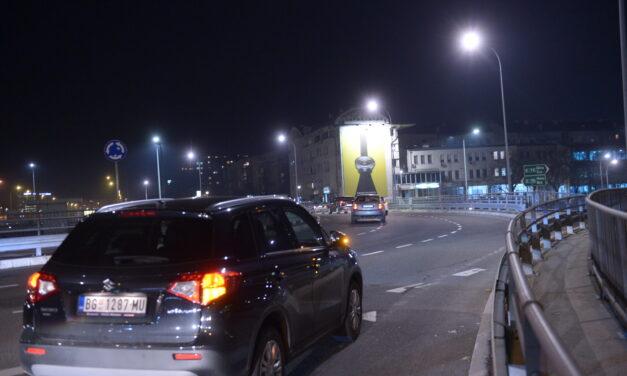 AKCIJA! Fasada kod Beogradske Arene, slobodna!