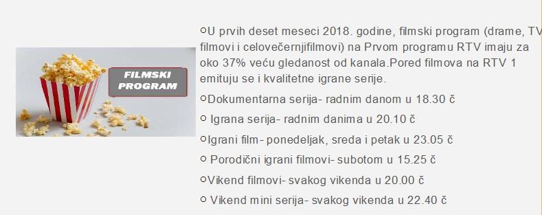 Filmski program