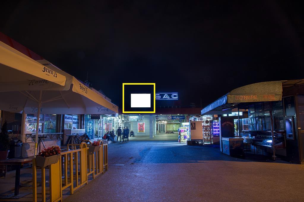 LED bilbord autobuska stanica glavni ulaz