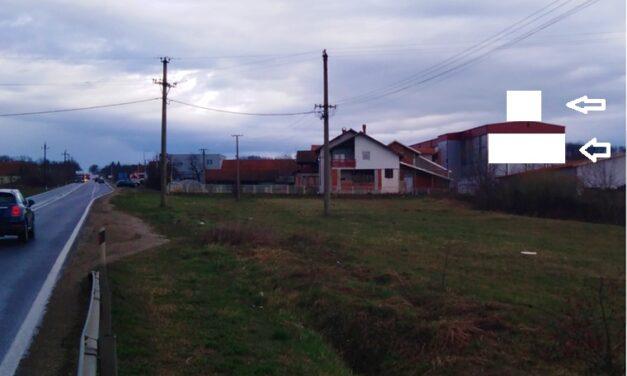 NOVO! fasadna reklama na ulazu u Kragujevac