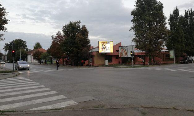 Kikinda, autobuska stanica, OUTDOOR led bilbord