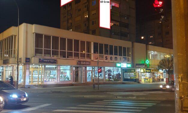 NOVO! odlična i cena i pozicija Leskovac – fasadna reklama