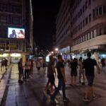 Beograd – epi centar – led bilbord u Kneza Mihaila